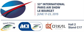 Orkal Paris Air Show Le Bourget